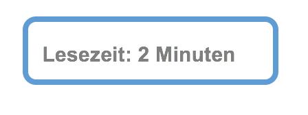 Lesezeit 2 Min
